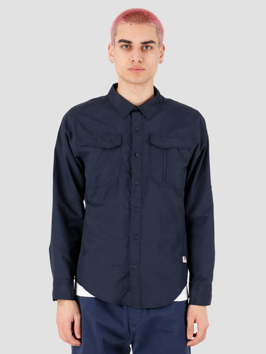 The North Face Sequoia Shirt Urban Navy NF0A2XJWH2G1