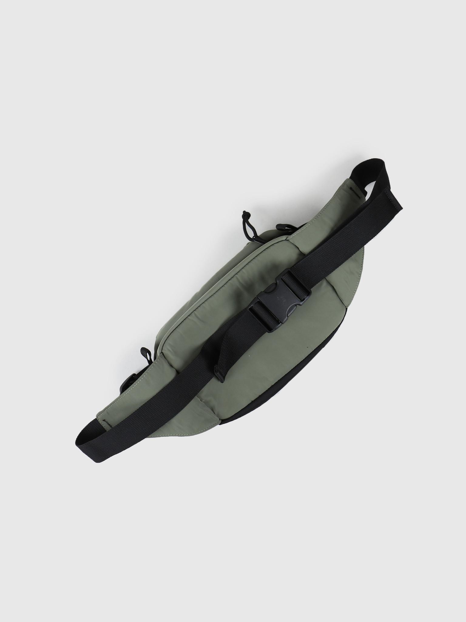 Carhartt WIP Carhartt WIP Military Hip Bag Dollar Green Black I024252-66790