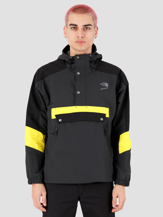 The North Face 90 Extreme Wind Anorak Asphalt Grey Combo NF0A4AGSLL51