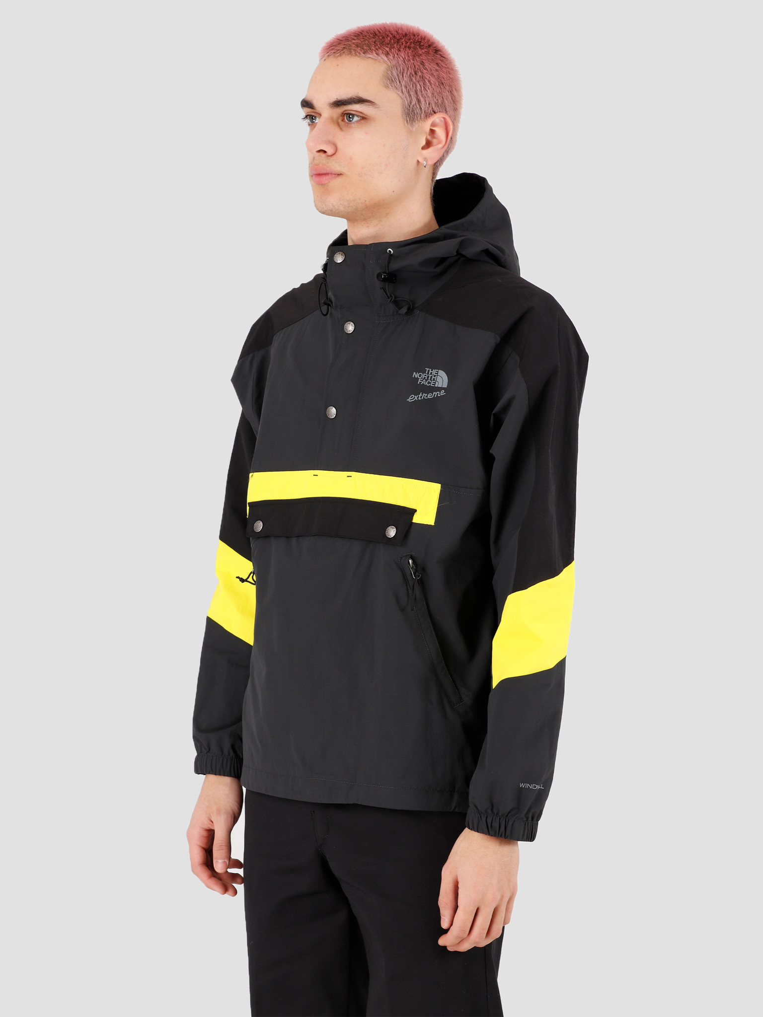 The North Face The North Face 90 Extreme Wind Anorak Asphalt Grey Combo NF0A4AGSLL51