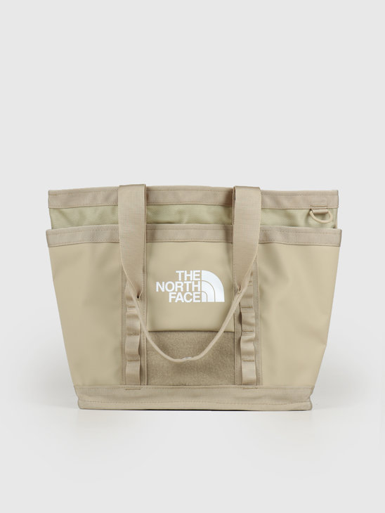 The North Face Explore Utility Tote Twill Beige TNF White NF0A3KZUEJ71