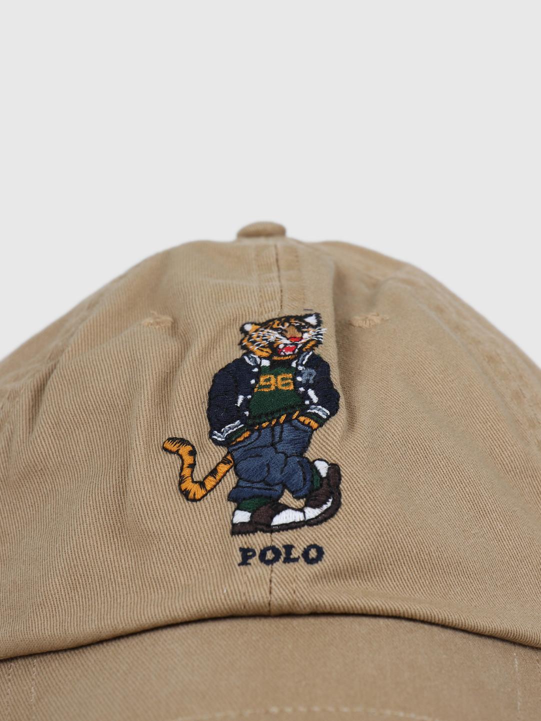 Polo Ralph Lauren Polo Ralph Lauren Cotton Twill-Classic Sport Cap Luxury Tan 710790285001