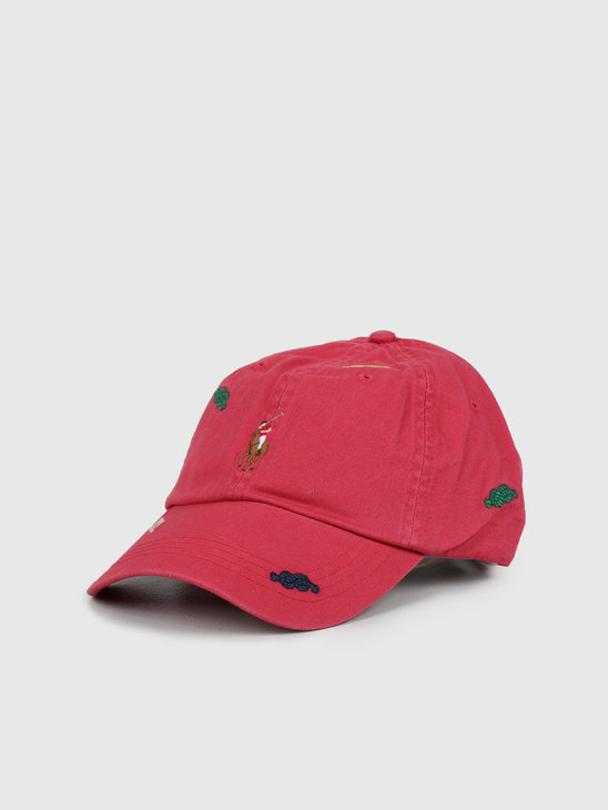 Polo Ralph Lauren Classic Sport Cap Nantucket Red 710788033001