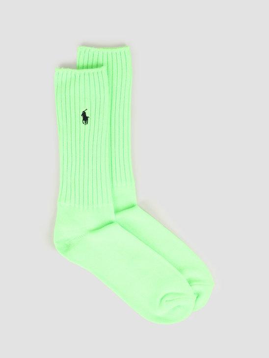 Polo Ralph Lauren Slouch Sock Crew Bright Pear 449799789004