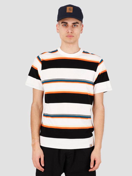 Carhartt WIP Sunder T-Shirt Sunder Stripe Wax Wax I027743-D61A
