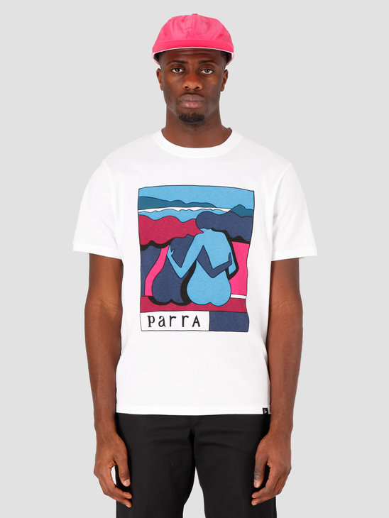 by Parra The Riverbench T-Shirt White 43500