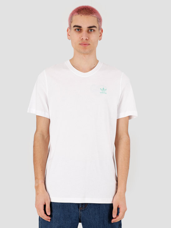 adidas Front Back T-Shirt White FM3348