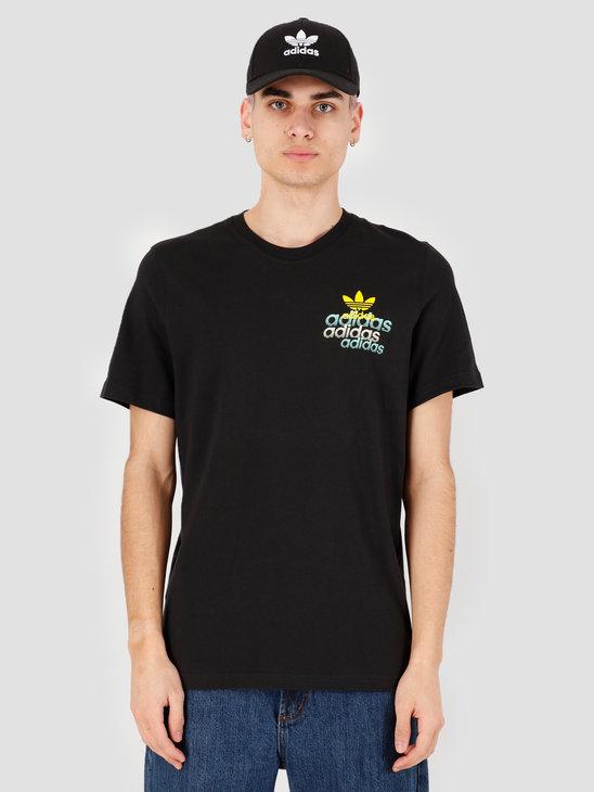 adidas Shattered Emb T-Shirt Black FM3341