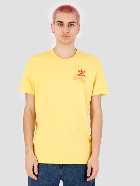 adidas Shattered Emb T-Shirt Core Yellow FM3340