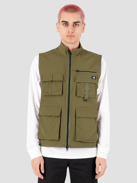 Dickies Stillmore Jacket Mens Army Green DK0A4TM1AGR1