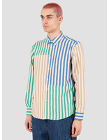 EU FC EU FC Bernardo Patchwork Shirt Multi Stripes