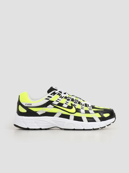 Nike P 6000 Black Lemon Venom Platinum Tint White CD6404-007