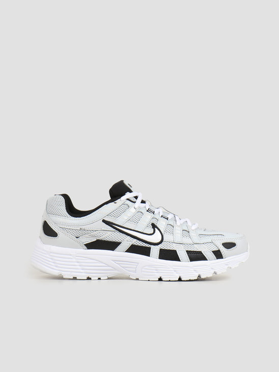 Nike P 6000 Pure Platinum White Black CD6404-006