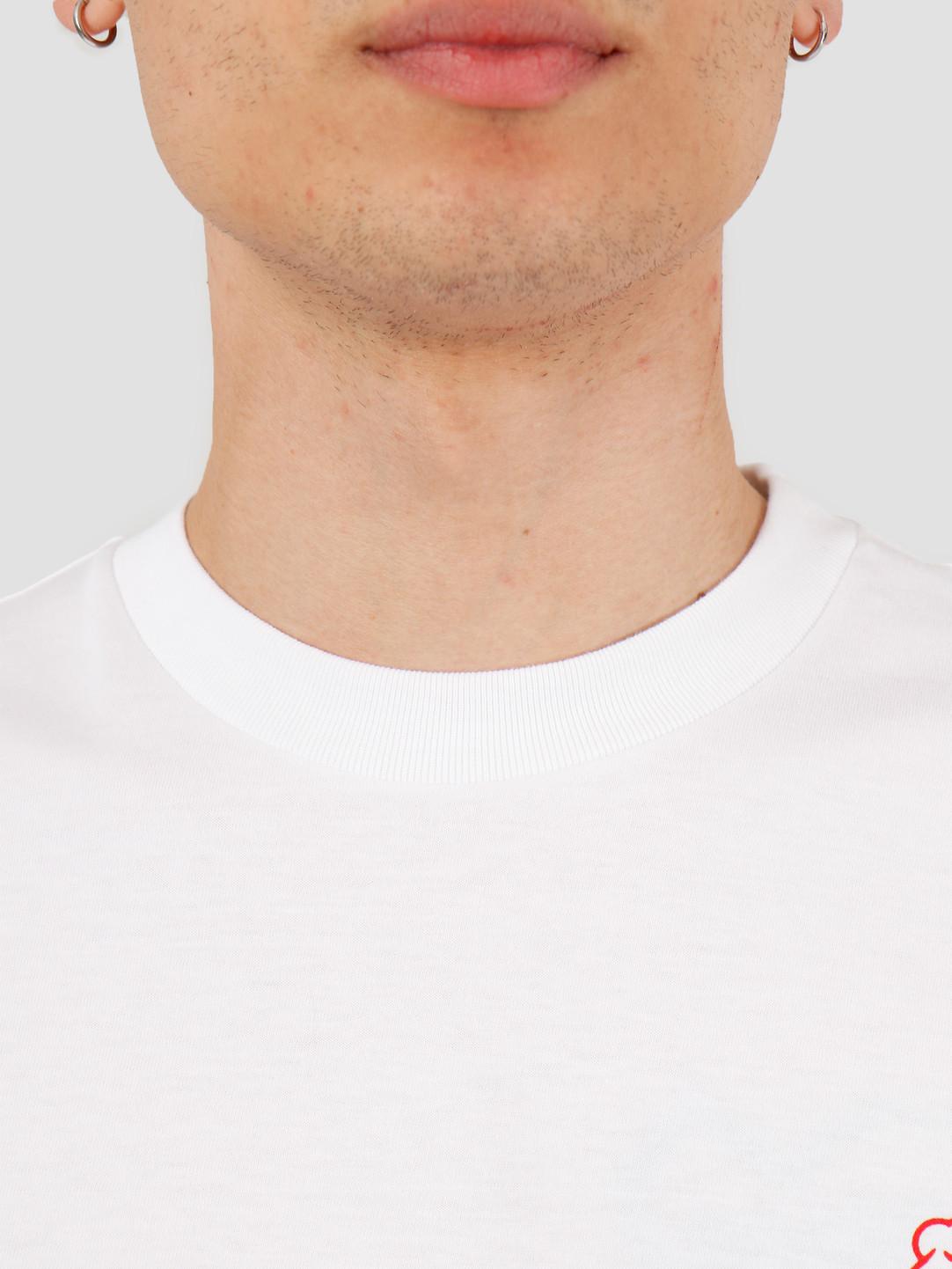 Carhartt WIP Carhartt WIP Bene T-Shirt White Red I027811-290
