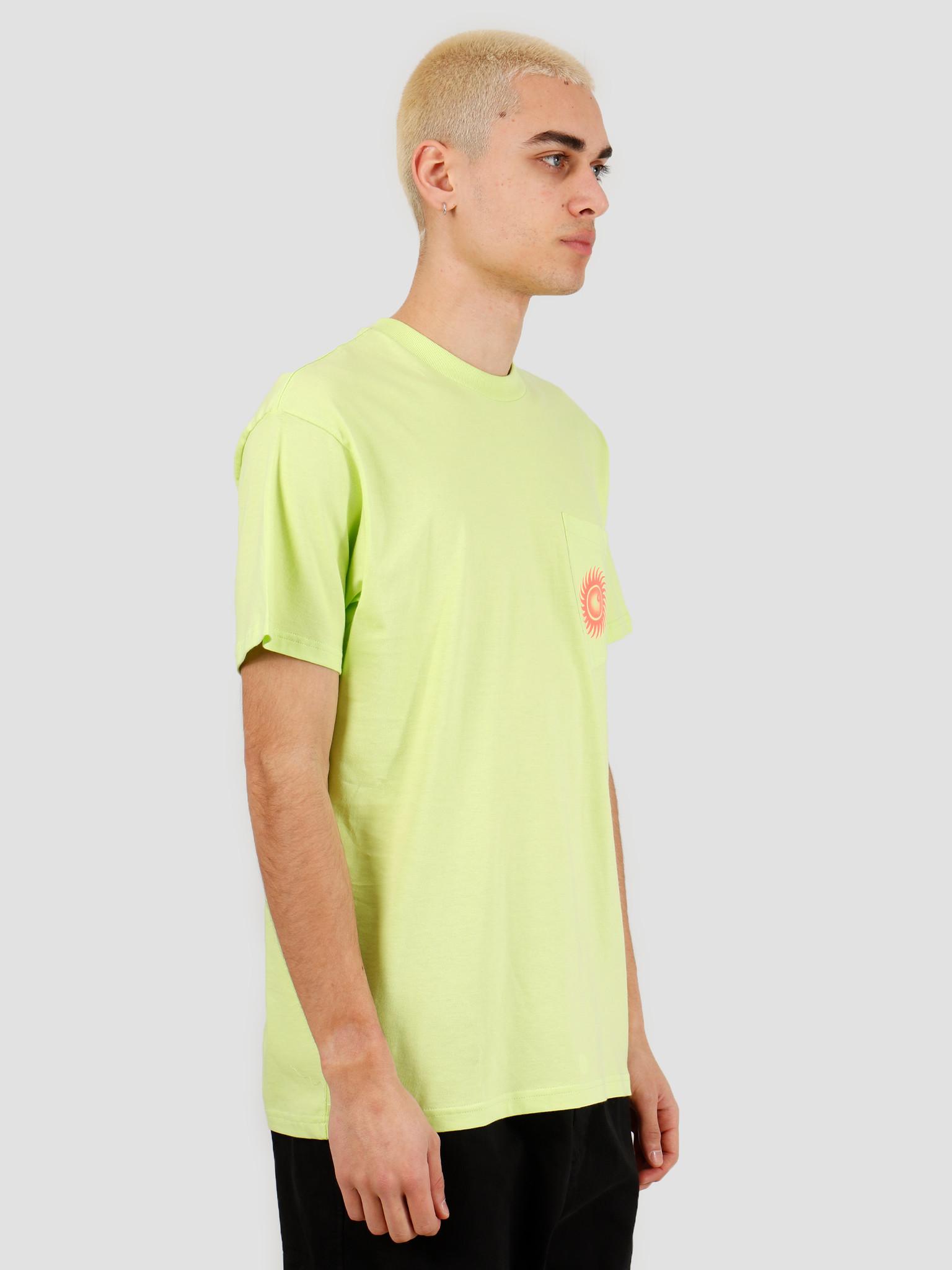 Carhartt WIP Carhartt WIP Note Pocket T-Shirt Lime I027754-09E00
