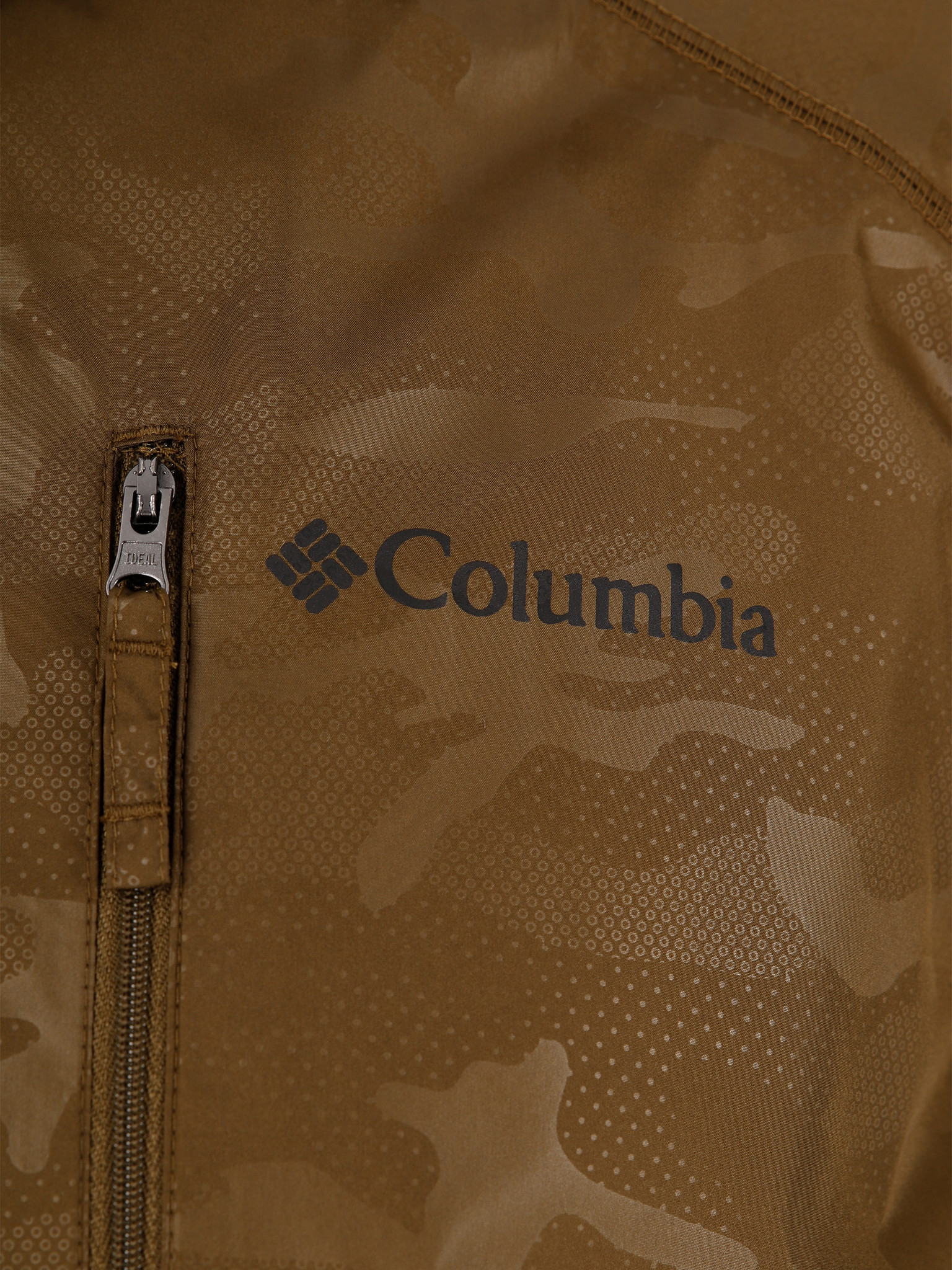 Columbia Columbia Flash Forward Windbreaker Print New Olive Techn 1606803327