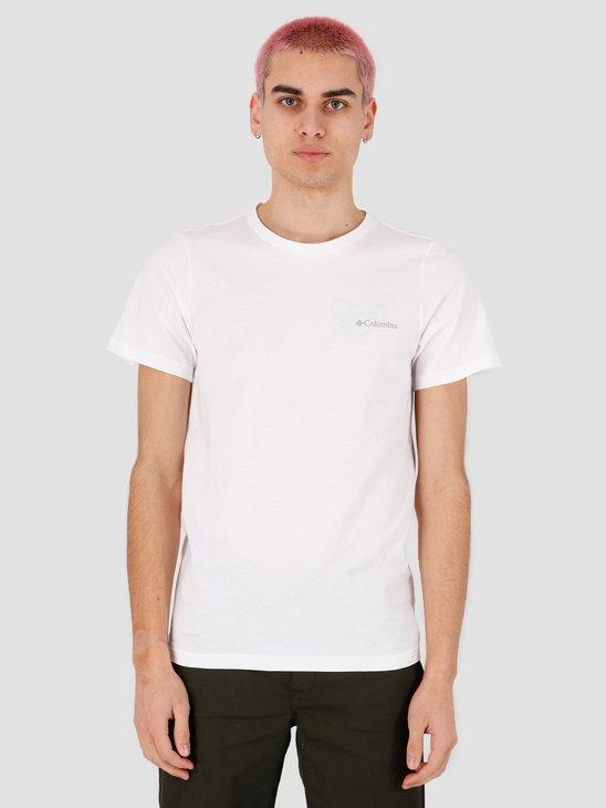 Columbia Rapid Ridge Back Graphic T-shirt White CSC Textu 1888863100