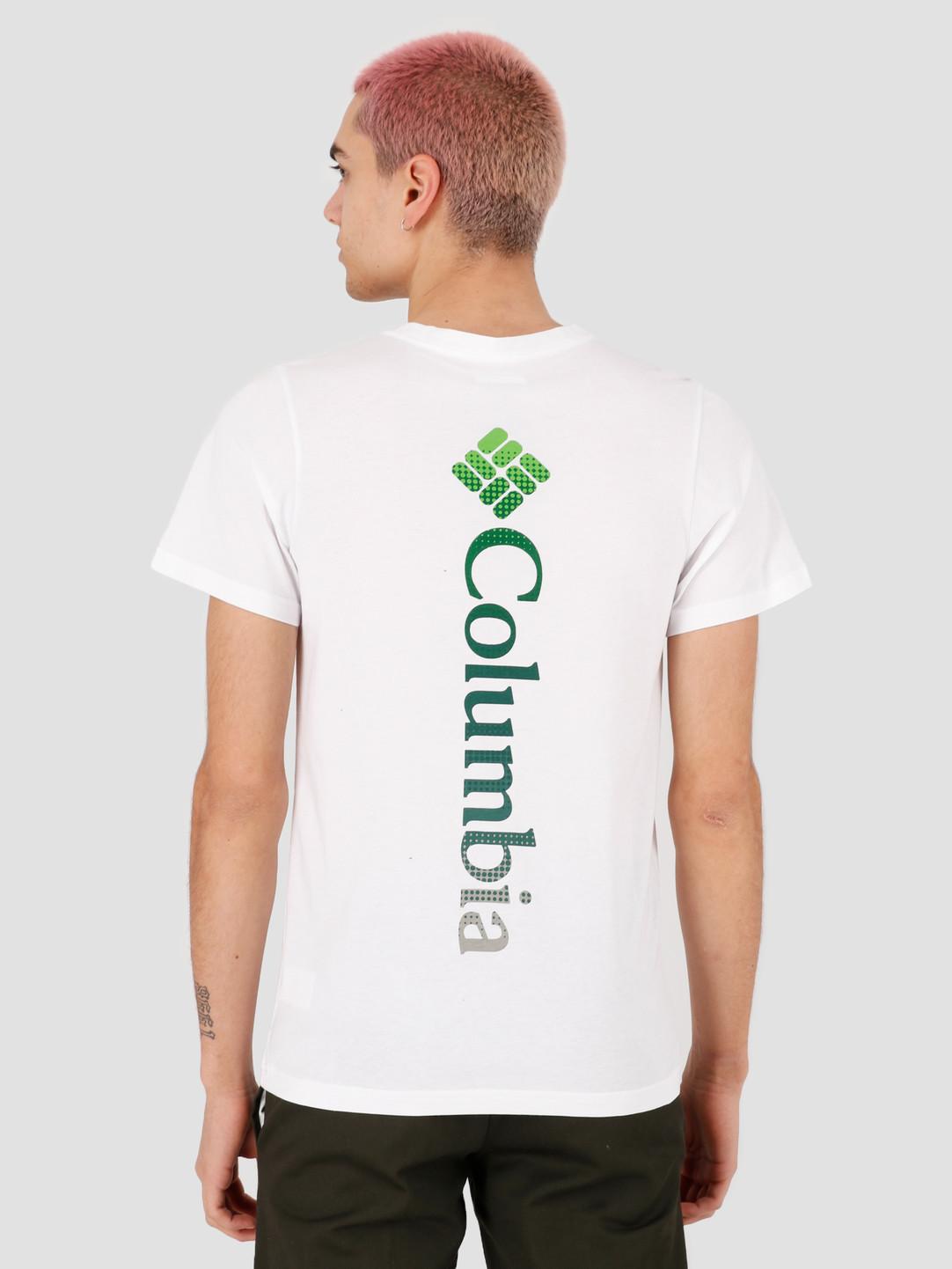 Columbia Columbia Rapid Ridge Back Graphic T-shirt White CSC Textu 1888863100