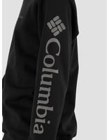 Columbia Columbia Columbia Logo Fleece Crewneck Black, City Gre 1884931010