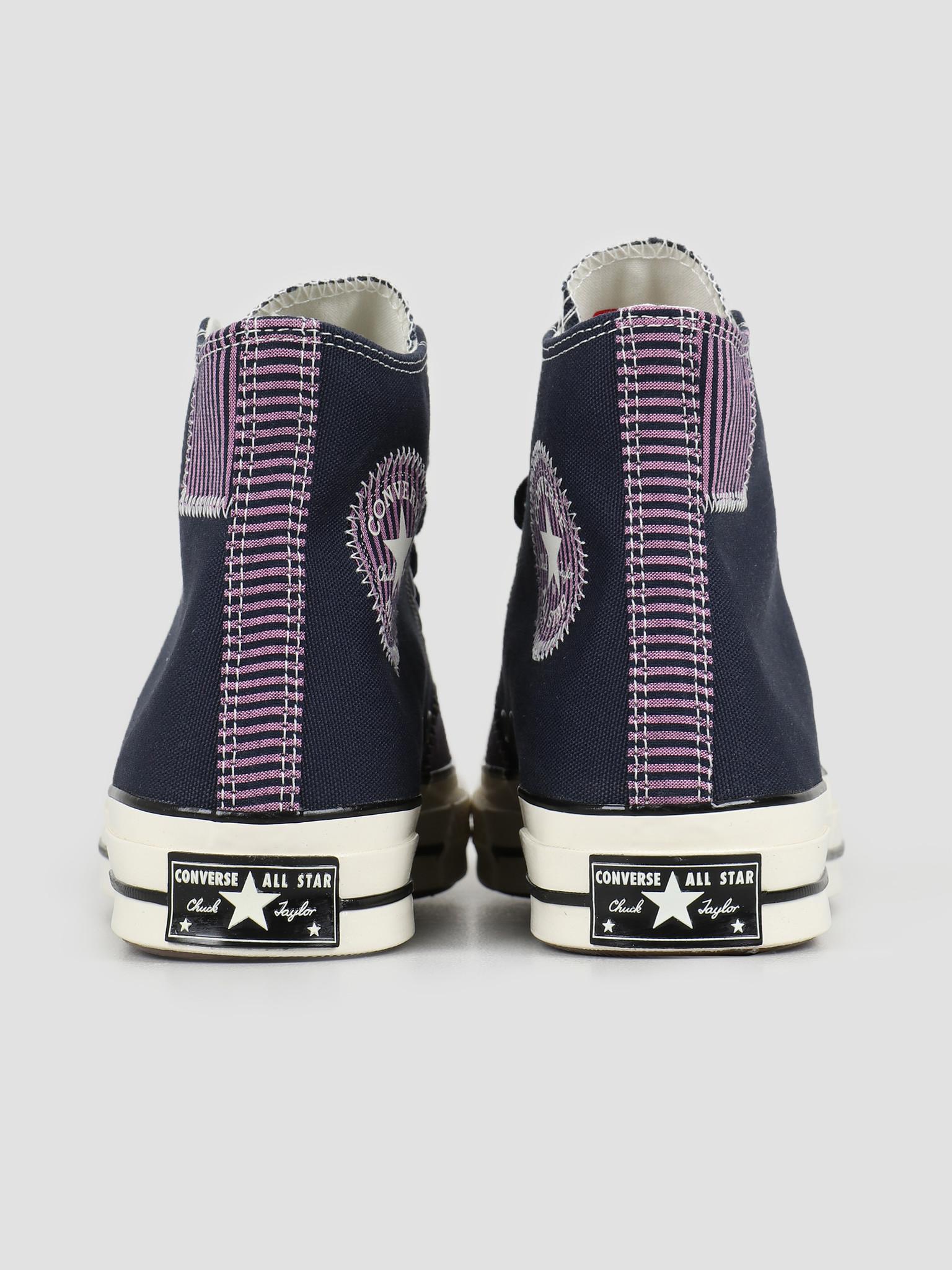Converse Converse Chuck 70 Hi Obsidian Peony Pink Egret 167072C