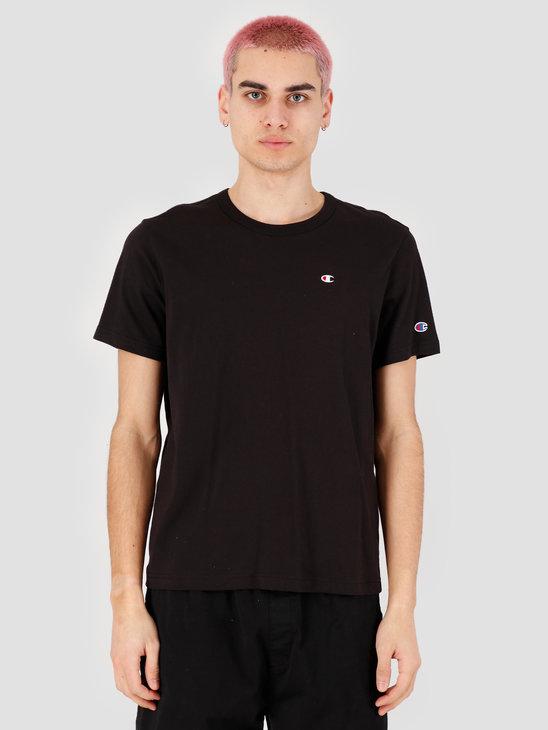 Champion Crewneck T-Shirt Black NBK 214674-KK001