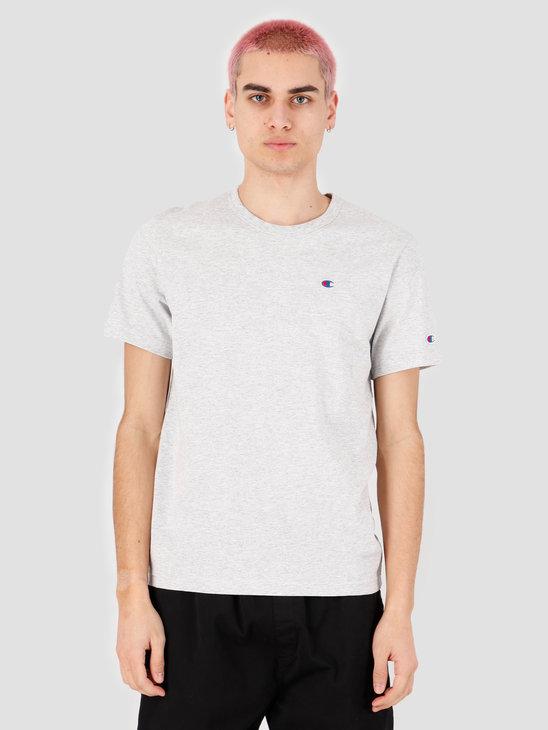 Champion Crewneck T-Shirt Grey Heather LOXGM 214674-EM004