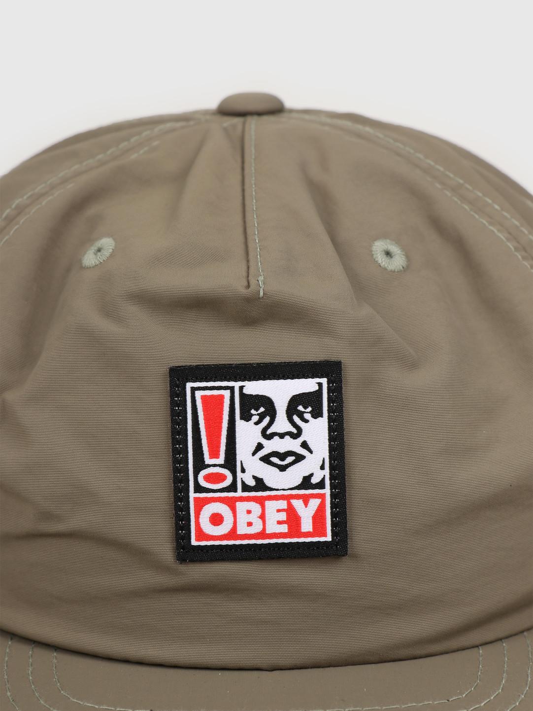 Obey Obey Exclamation strapback Khaki 100570111 KHA