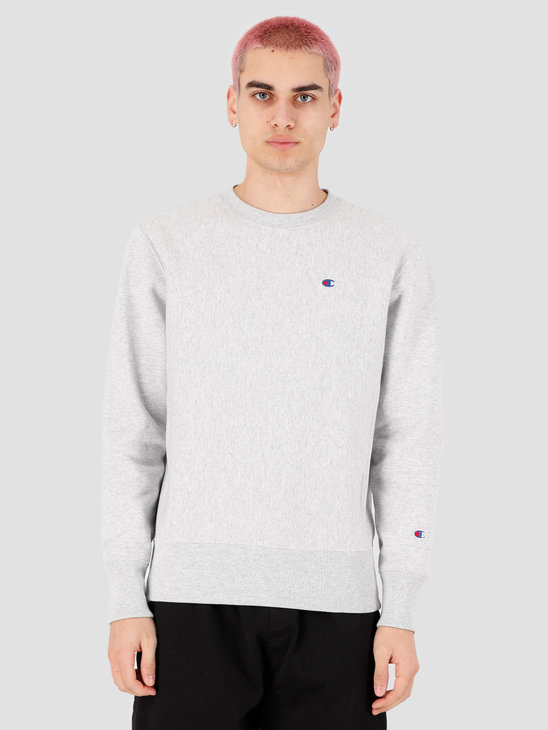 Champion Crewneck Sweatshirt Grey Heather LOXGM 214676-EM004