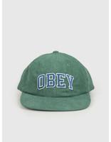 Obey Obey Dtp 6 panel strapback Emerald 100580226 EME