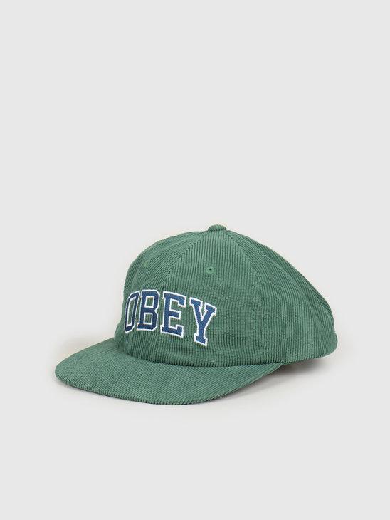 Obey Dtp 6 panel strapback Emerald 100580226 EME