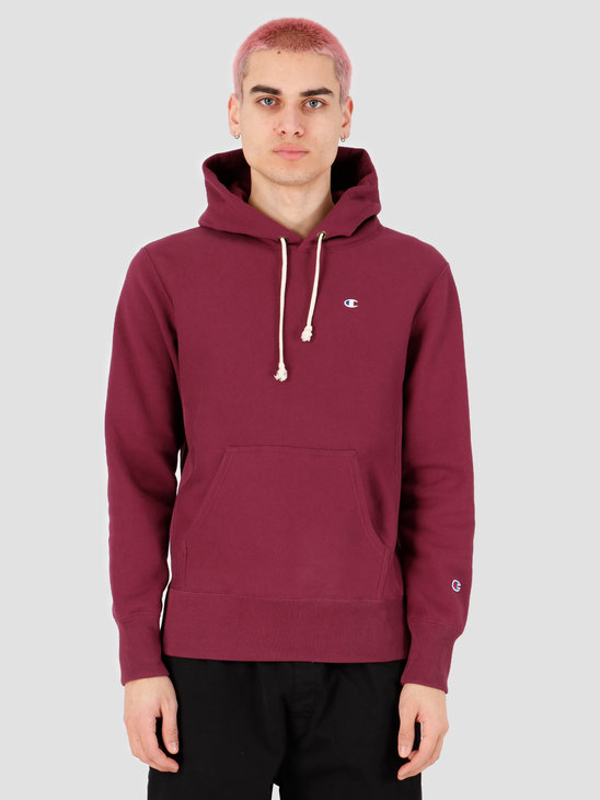 Champion Hooded Sweatshirt Red WRE 214675-VS506