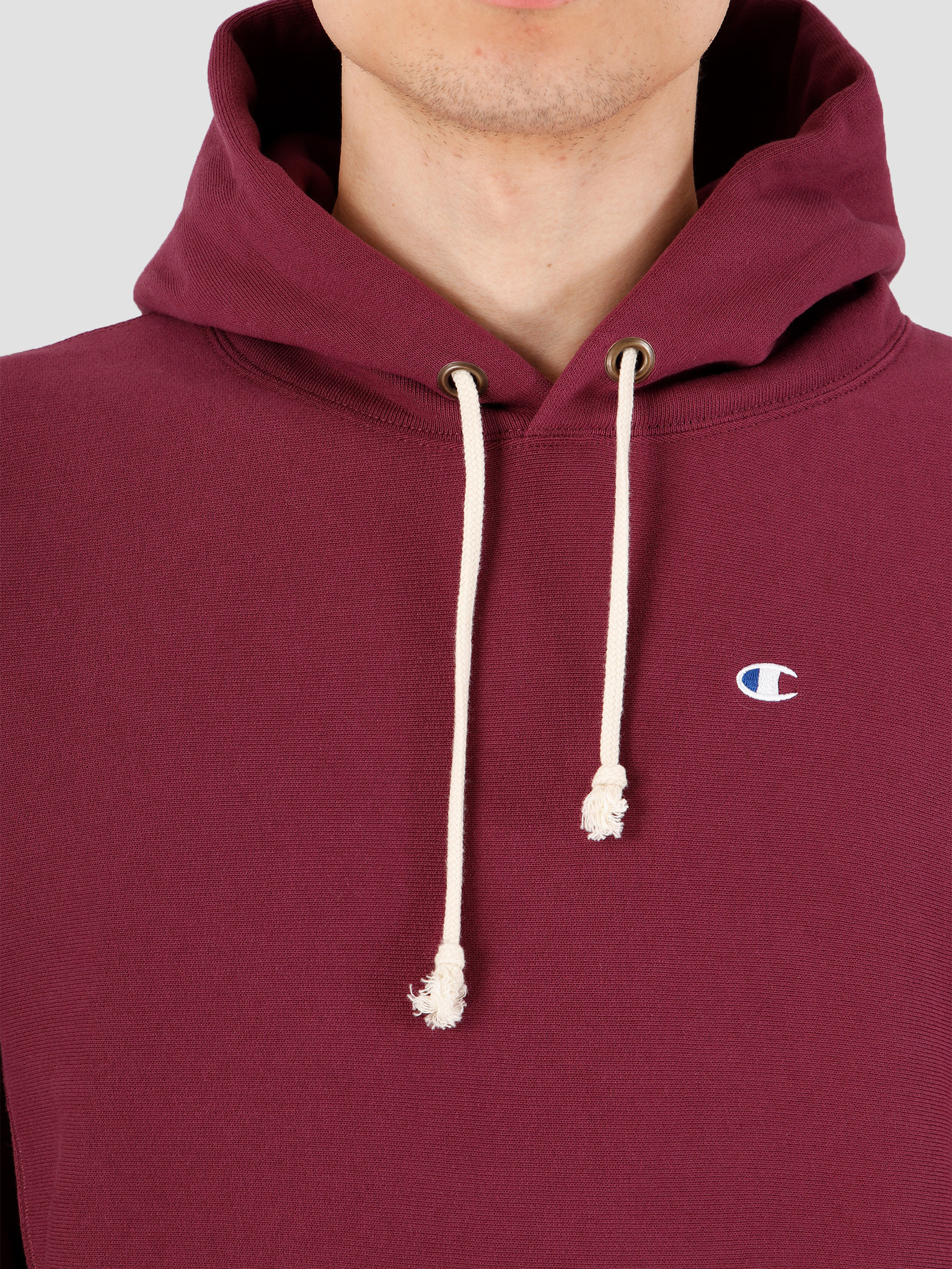 Champion Champion Hooded Sweatshirt Red WRE 214675-VS506