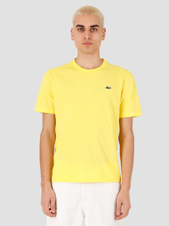 Lacoste 1HT1 Men's T-Shirt 011 Lemon TH7618-01