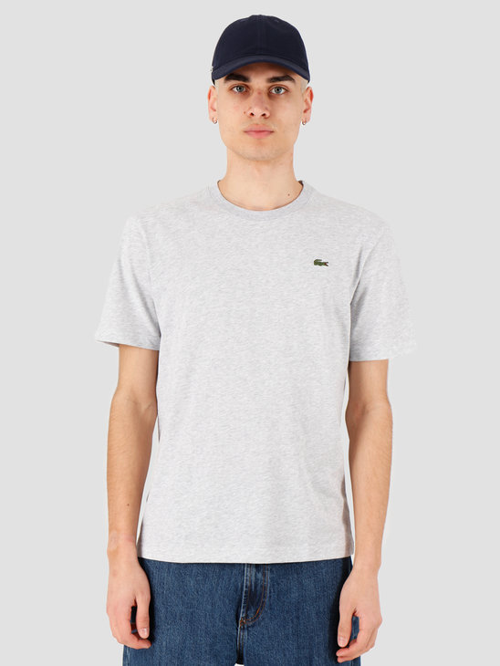 Lacoste 1HT1 T-Shirt Silver Chine TH7618-93