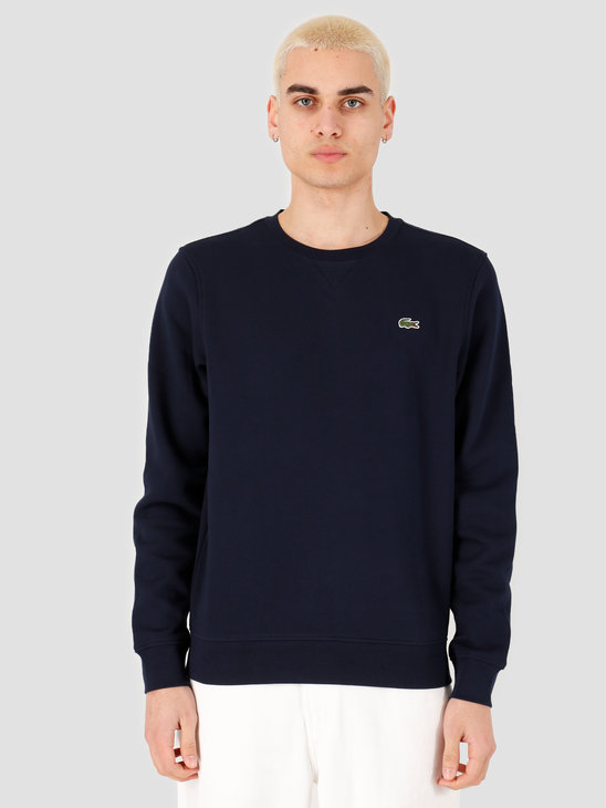 Lacoste 1HS1 Men's sweatshirt 01 Navy Blue SH7613-01