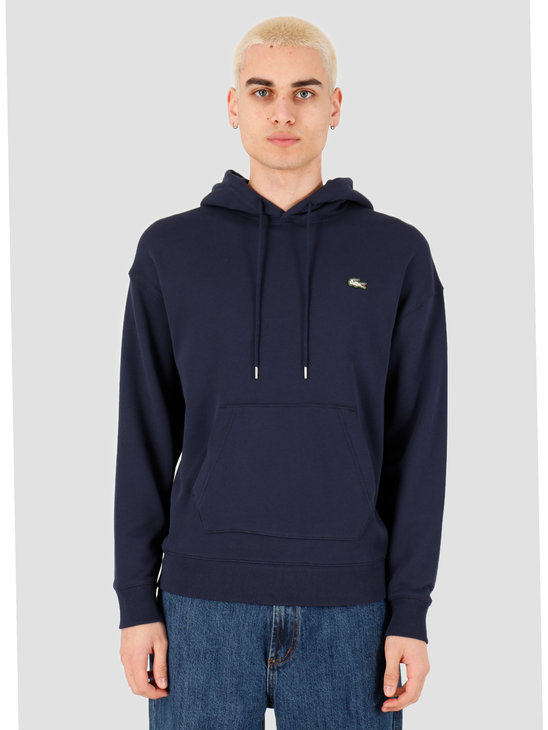 Lacoste 1HS1 Men's sweatshirt 01 Navy Blue SH8134-01
