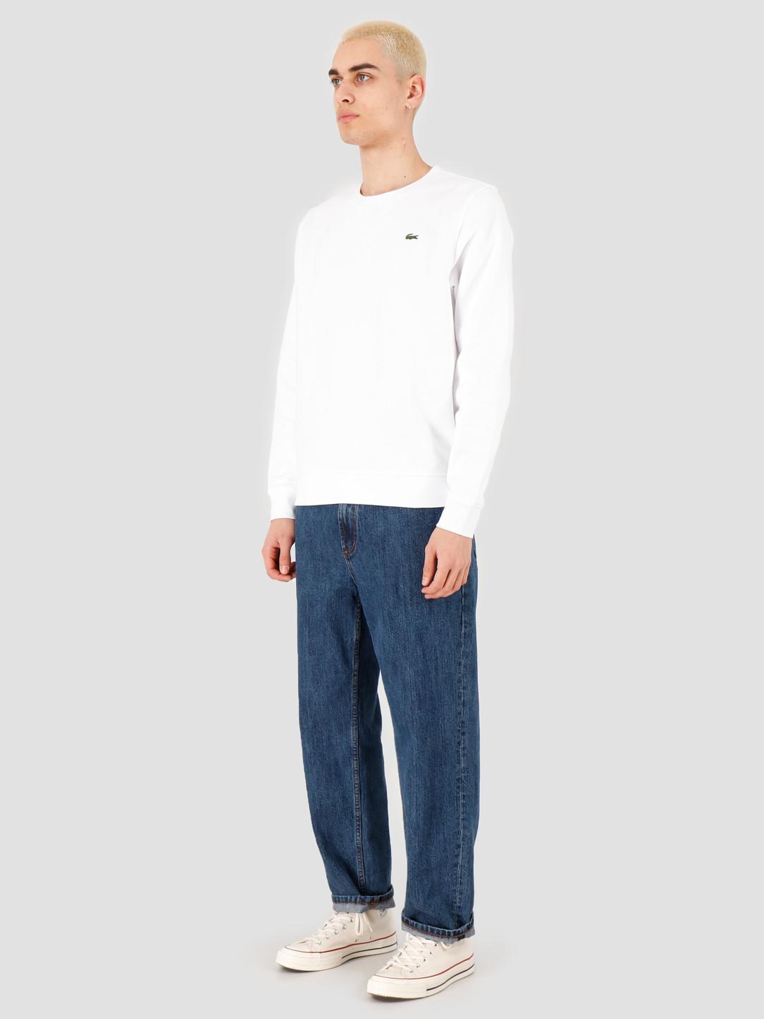 Lacoste Lacoste 1HS1 Men's sweatshirt 01 White SH7613-01
