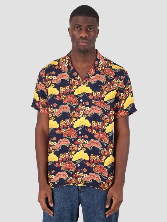 Libertine Libertine Cave S/S Dress Shirt Asian Sky 1871