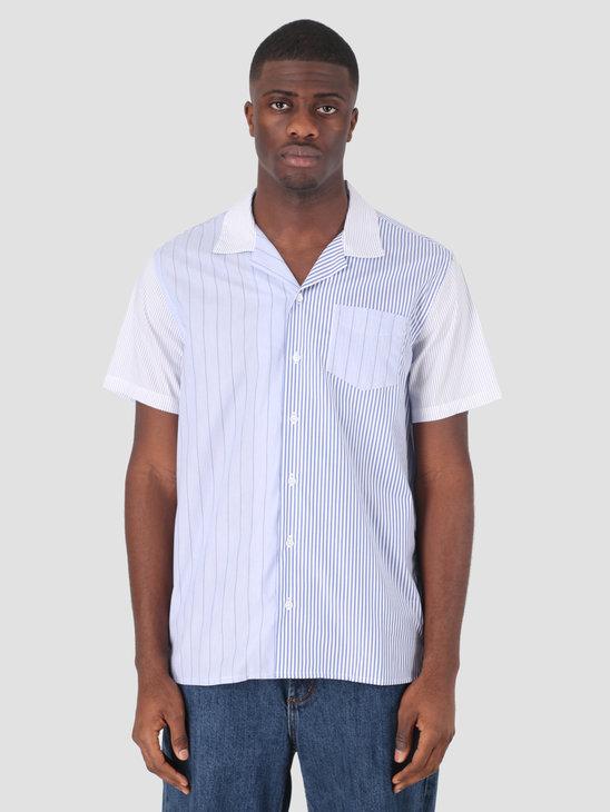 Libertine Libertine Cave S/S Dress Shirt Stripe Mix 01 1790