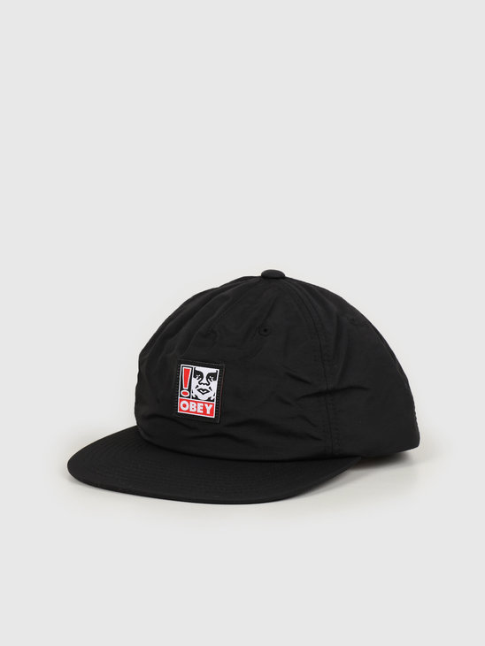 Obey Exclamation strapback Black 100570111 BLK