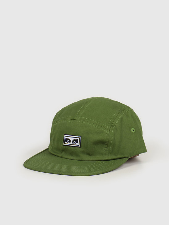 Obey Eyes 5 Panel Hat Army 100490059 ARM