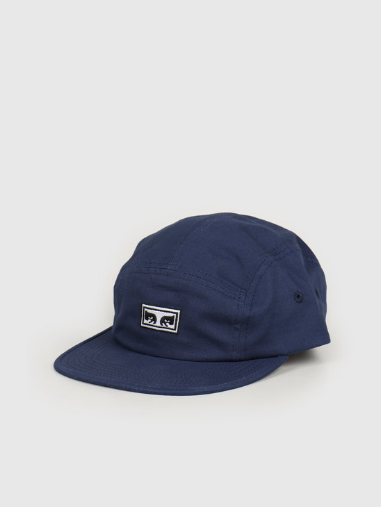 Obey Eyes 5 Panel Hat Navy 100490059 NVY