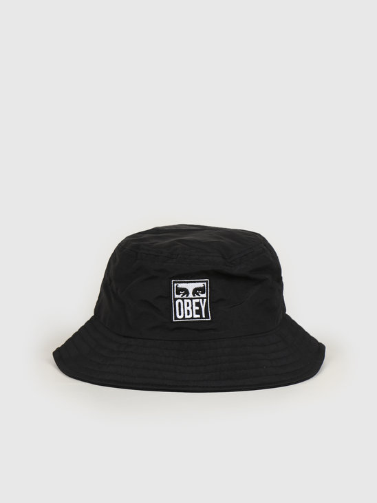 Obey Icon eyes bucket hat Black 100520036 BLK