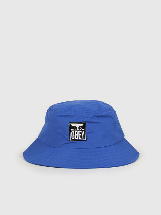 Obey Icon eyes bucket hat Ultramarine 100520036 UMR