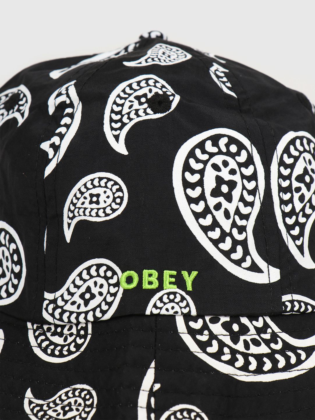Obey Obey Julian bucket hat Black multi 100520035 BKM