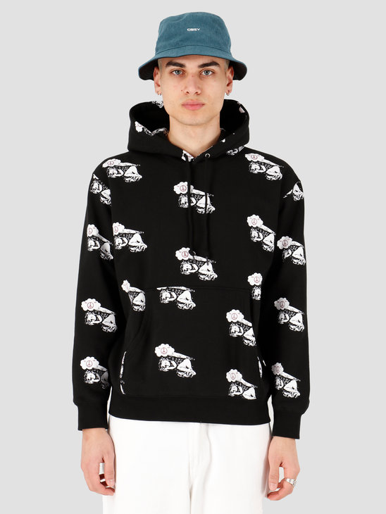 Obey Obey angel hood Black 112470084 BLK