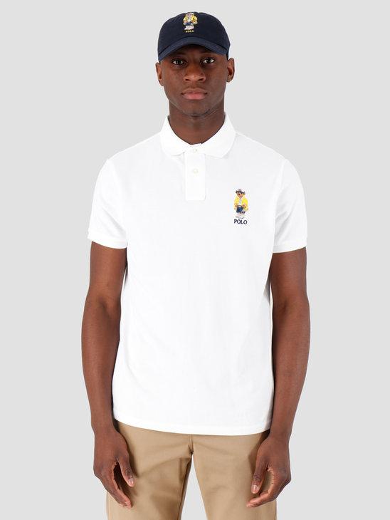 Polo Ralph Lauren Basic Mesh Polo White 710792901001