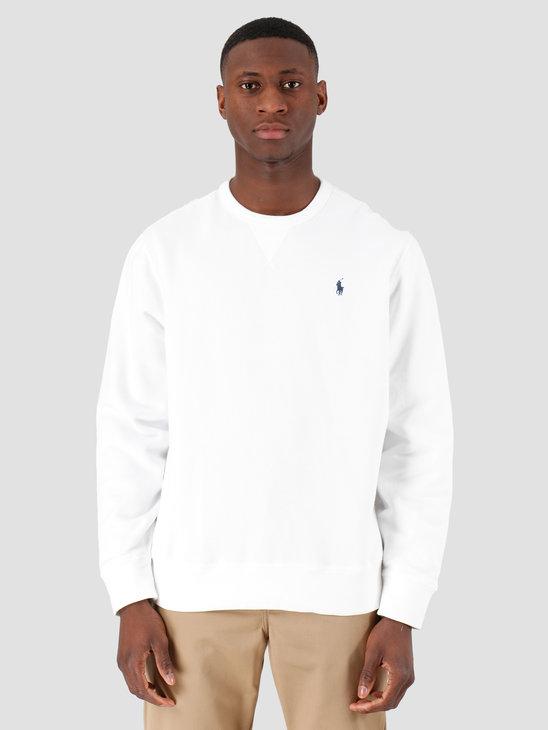 Polo Ralph Lauren Lscnm1 Longsleeve Knit White 710766772009