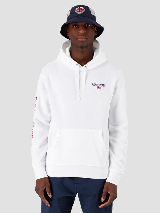 Polo Ralph Lauren Neon Hoodie White 710792899003