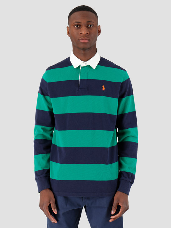 Polo Ralph Lauren Utility Jersey Sweater Kayak Green Multi 710791169001
